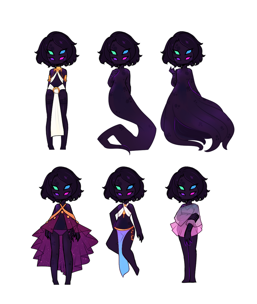 Nebula Outfit Collection [C] by witchuru
