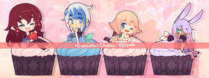 Cupcake Chibi Commissions : OPEN $24 EACH