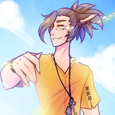 Icon Commission : Beach Days by witchuru
