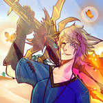 Icon Commission : Desert Glow by witchuru