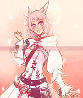 Concept Commission : Pink Astro [c] by witchuru