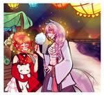 Umeojin-Island : Night Festival