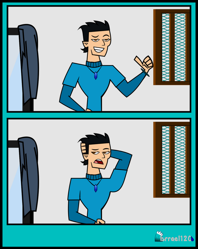 Audition of Isrrael for Total Drama Reboot 2 by isrrael120