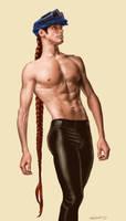 Joven stripper TEP WIP by susanavillegas