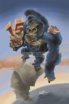 King Kong Celebrates 15