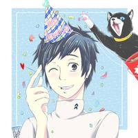 Persona 5: Yuuki Mishima by suoh12