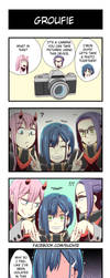 Darling In The Franxx 4koma by suoh12
