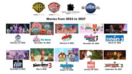 Warner Animation Group Movies From 2023 To 2027 By Victorpinas On Deviantart
