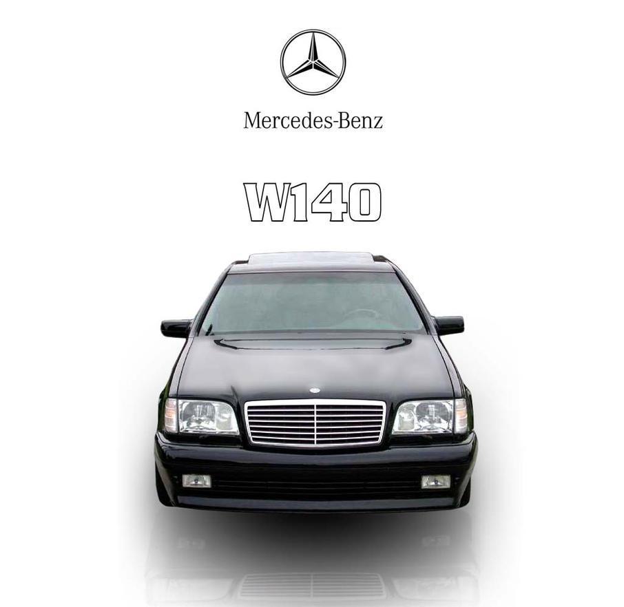 Mercedes benz w140 by weneakhborz on deviantart for Mercedes benz w140