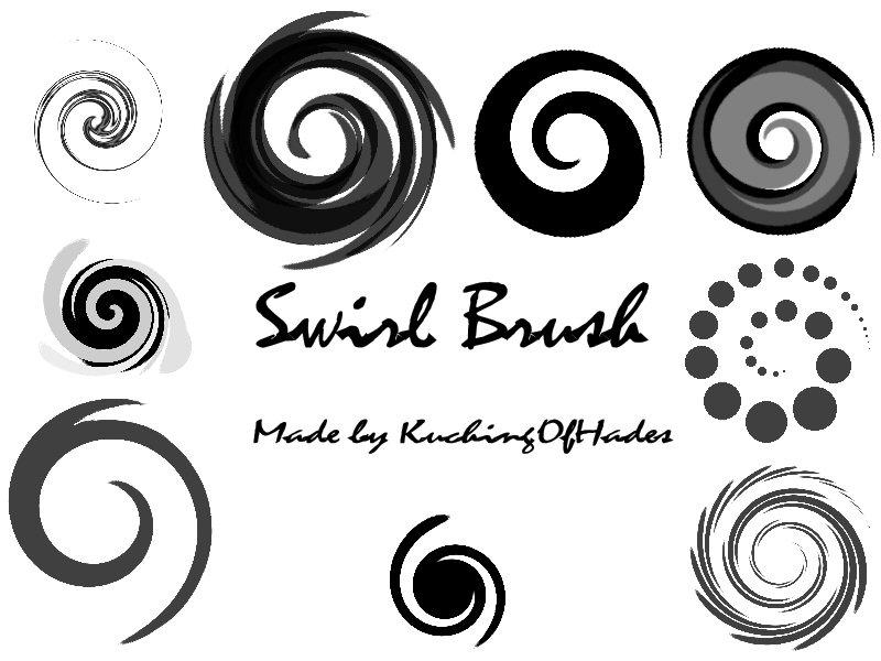 Swirl Brush by KuchingOfHades