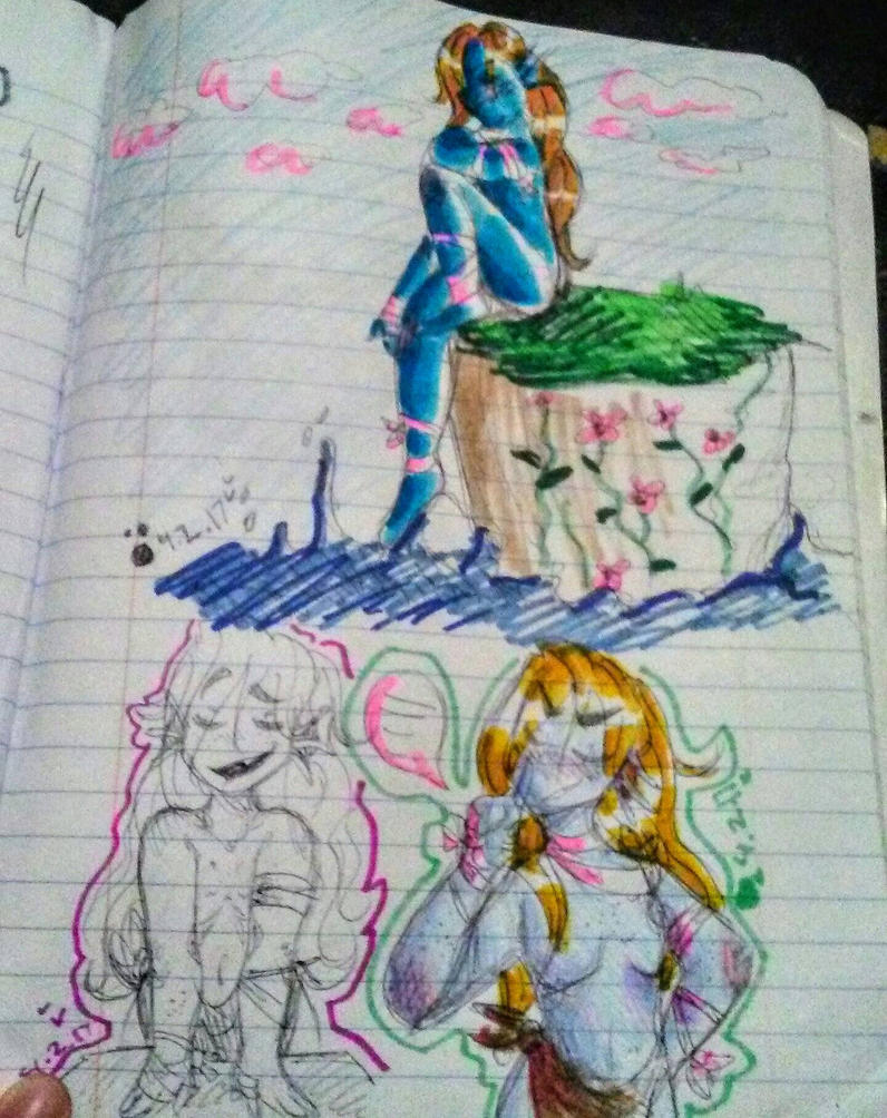 [really old ht allison drawings] by ArtisticPegisister