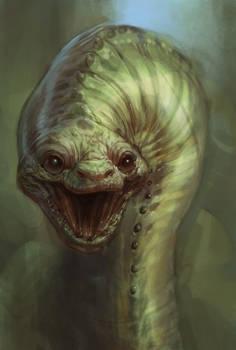 Asmodeus the Cuddle Snake