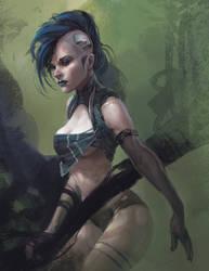 Cyberpunkish by IzzyMedrano