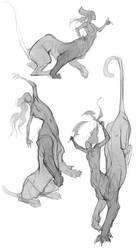 Artemis Sketches III