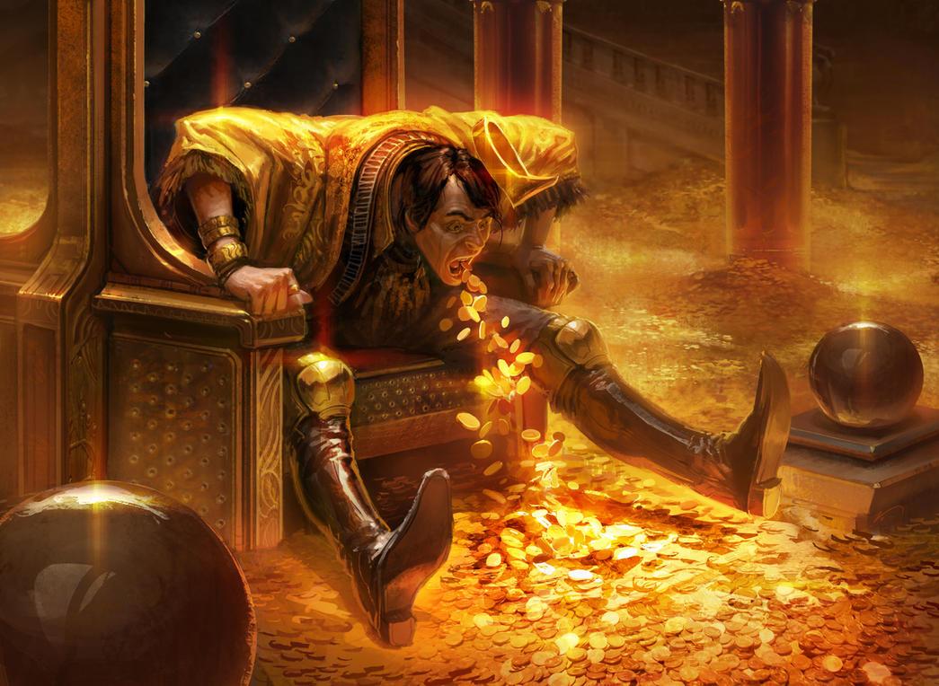 Risultati immagini per gold greed