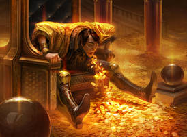 Greed - MTG by IzzyMedrano