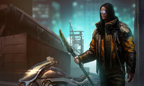 Jason Momoa as Raven: Snow Crash Movie