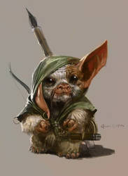Mogwai Warrior  C.1756 AD by IzzyMedrano