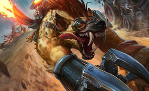 Hyena Warwick for Riot Games
