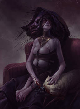 Dasha the Dark Goddess: A portrait