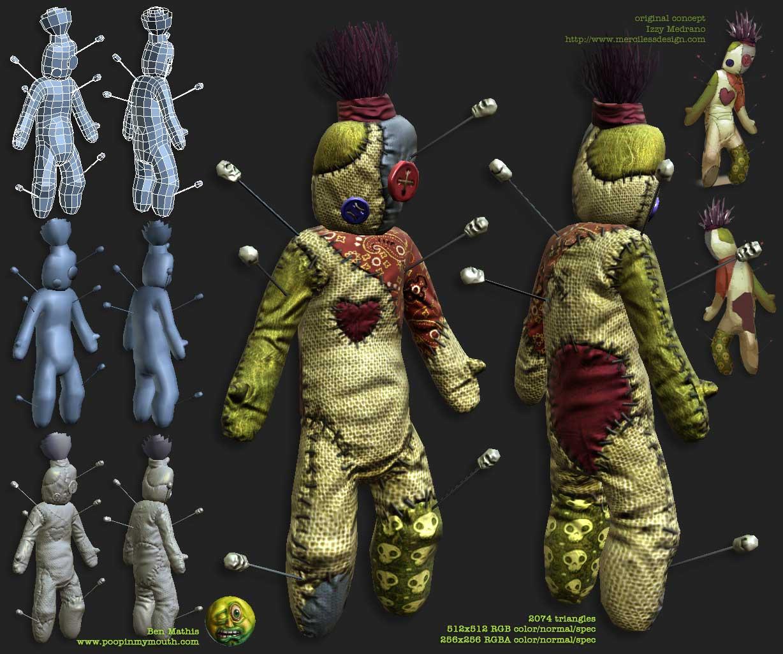 Voodoo Doll:Hidden Character