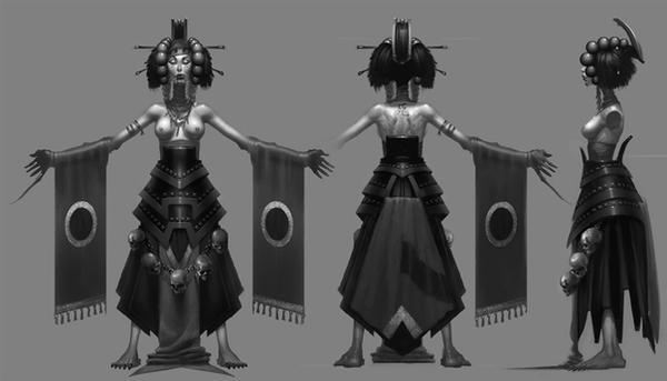 Goddess of Decay II by IzzyMedrano