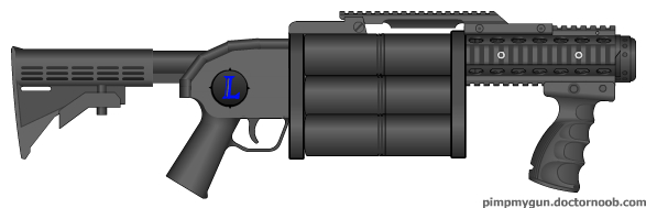 40 mm grenade launcher by gokhan-of-the-light