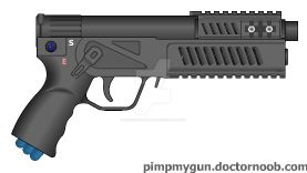 PENT-energy pistol by gokhan-of-the-light