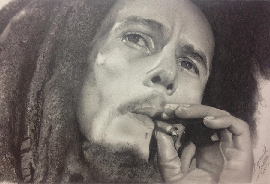 Bob Marley by samuelsaito on DeviantArt