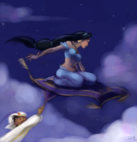 A song free magic carpet ride by perishing twinkie on for Aladdin carpet ride scene