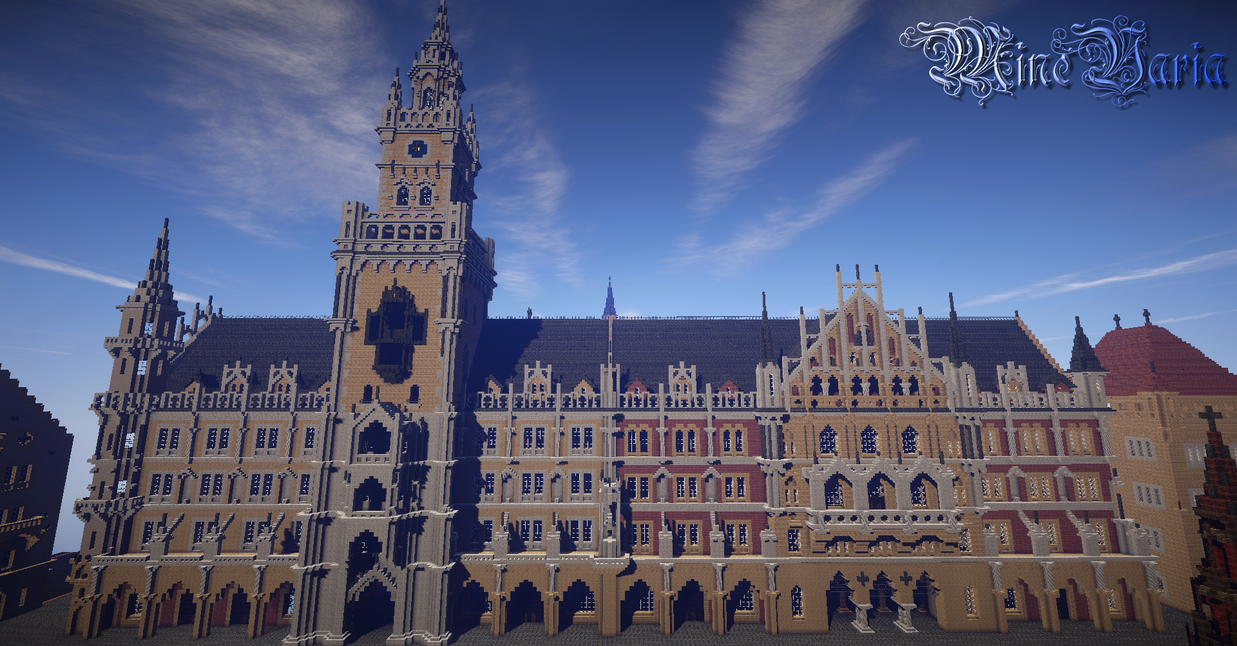 New Town Hall - Munich by Palando