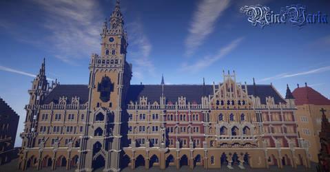 New Town Hall - Munich by Palando