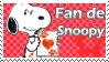 Stamp snoopy love by Drixi
