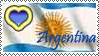 Stamp Argentina by Drixi