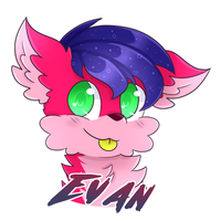 Evan badge (Commission) by SweetHearthMlp
