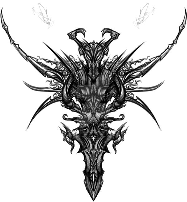 Evil Tattoo Design By DarklySpawned On DeviantArt