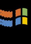 Designed for Mircrosoft Windows 95 (Transparent)