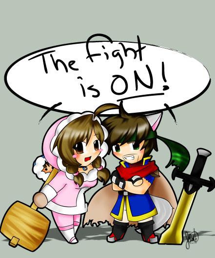 Id: Fox And Luna Challenge YOU By Anime-dragon-tamer On