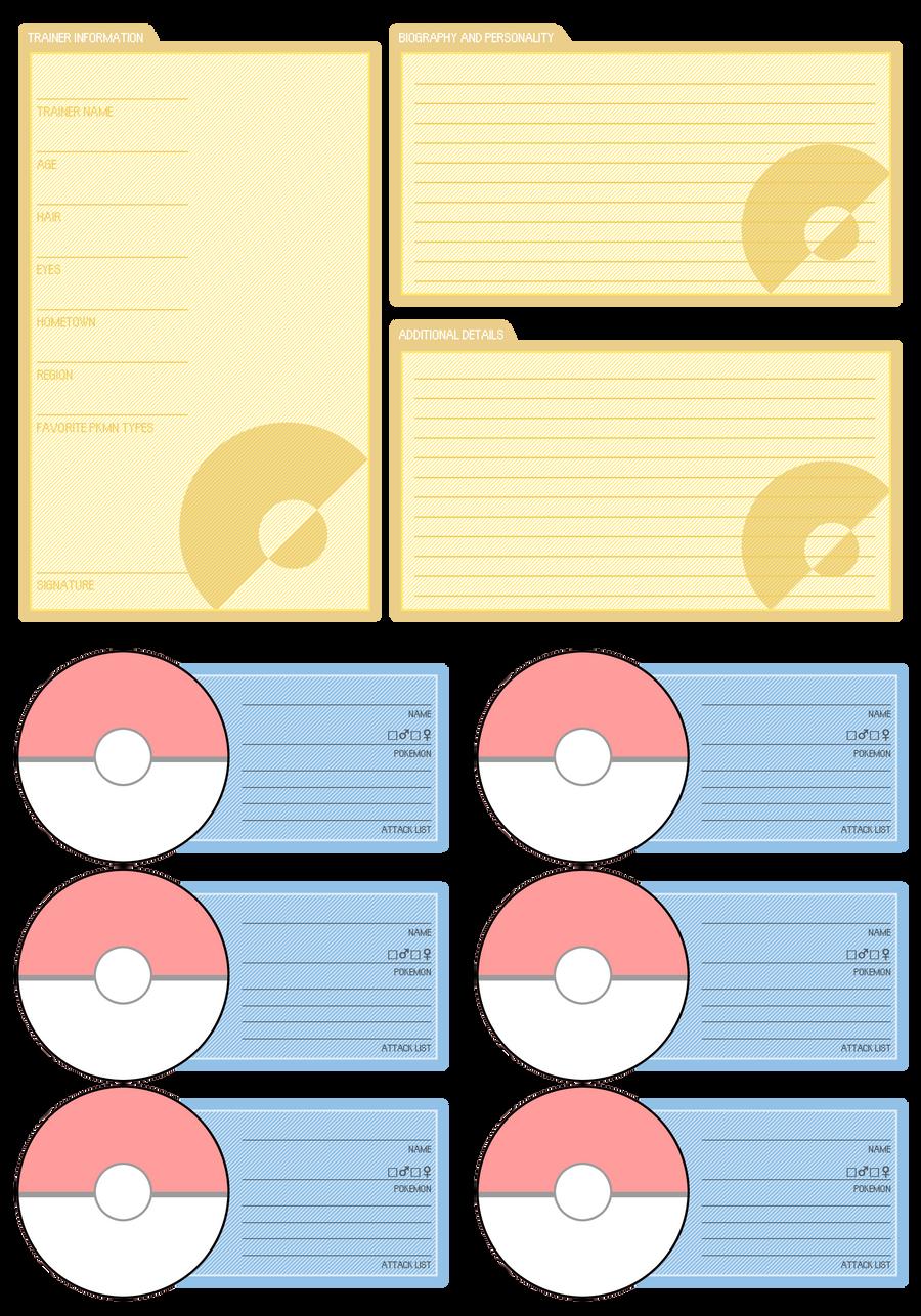 PKMN Trainer Card - BLANK