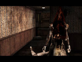 Silent Hill 2 Piramid Head by ParRafahell