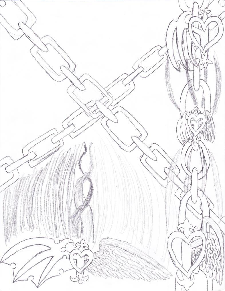 Hearts and Chains bkgrnd WIP by Dragonlatiosxaeon