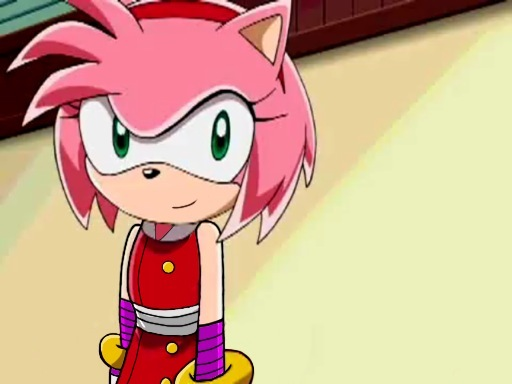 Sonic Boom, Amy Rose (Sonic X Style) By Trueloveheart94 On