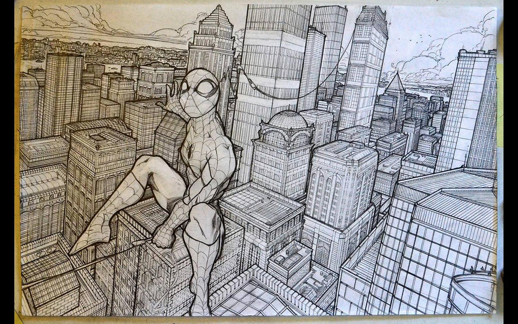 Spider-Man by Andora