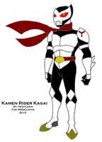 Kamen Rider Kagai by HewyToonmore