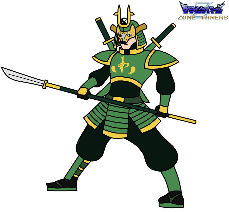 Zone Tamers: Samuraimon by HewyToonmore