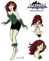 Batman: Dark Detective - Poison Ivy 2012 by HewyToonmore