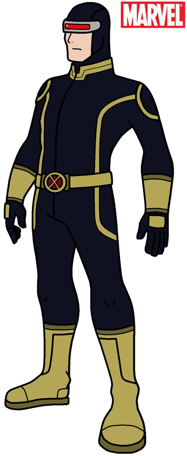 Marvel - Cyclops 2012 Alternate Costume by HewyToonmore