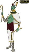 Mythology - Osiris 2014 by HewyToonmore