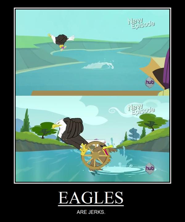 Eagles Are Jerks Meme by HewyToonmore on DeviantArt