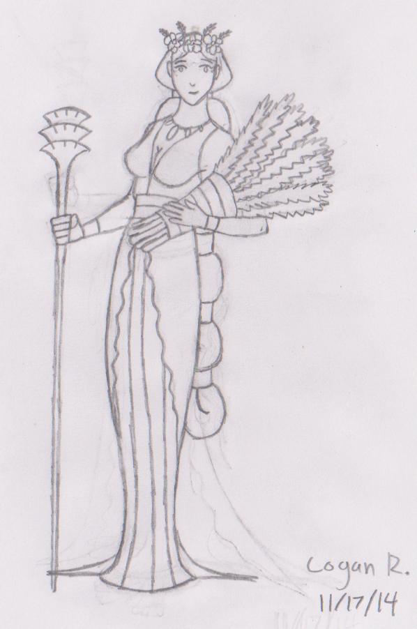 Demeter 2014 Sketch by Hewylewis